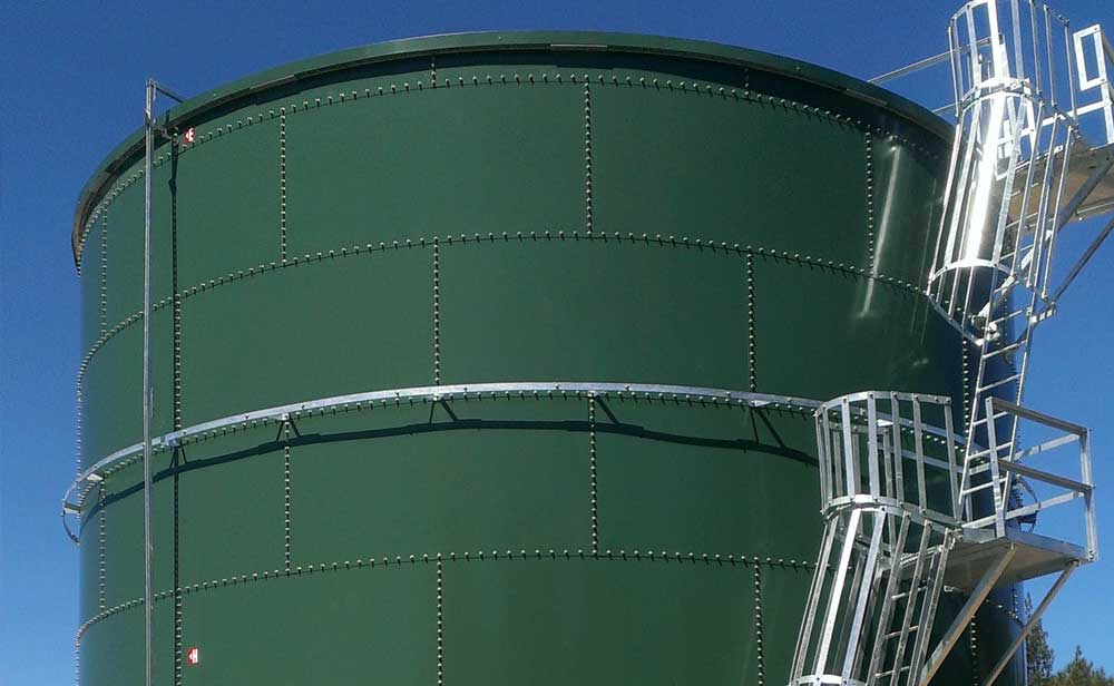 Bunnings West Gosford fire storage tank