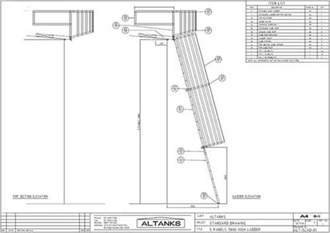 Altanks ladders
