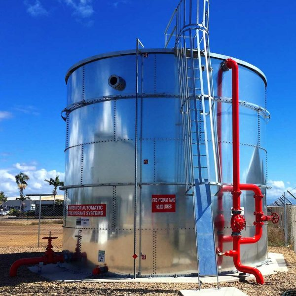 Townsville Airport Hydrant Tank