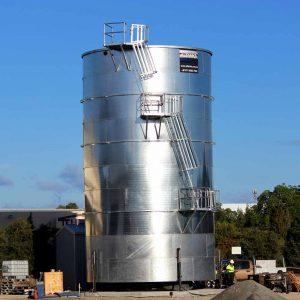 Peak Down Mines fire storage tank