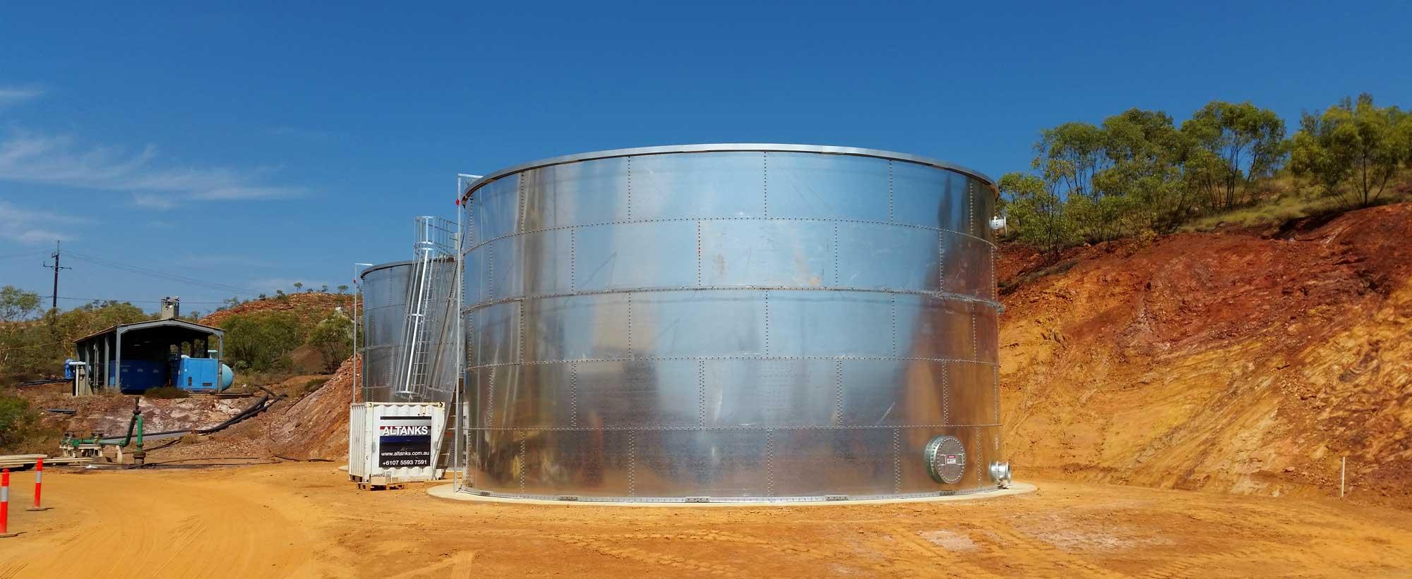 Mount Isa Mine Tank