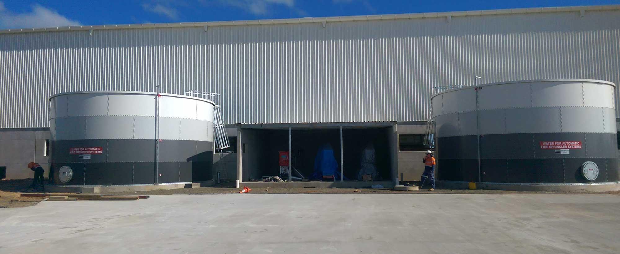 Origin Energy Chinchilla Tanks