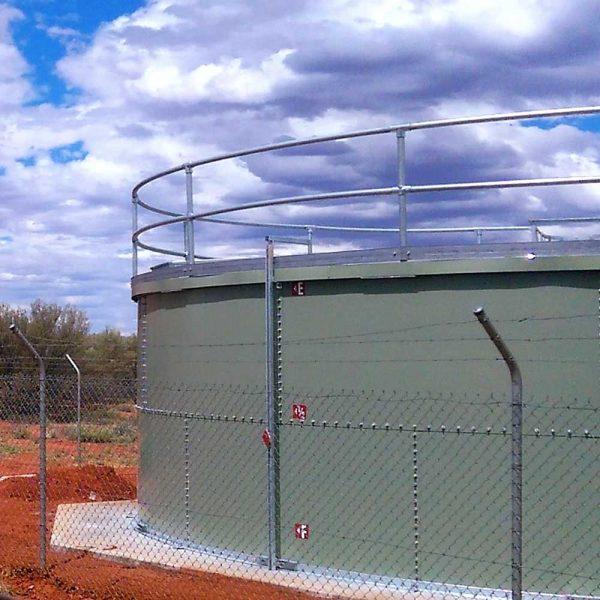 Uluru National Park water tank