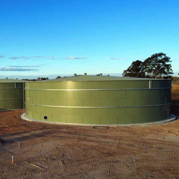 Boxhill Water treatment Tank