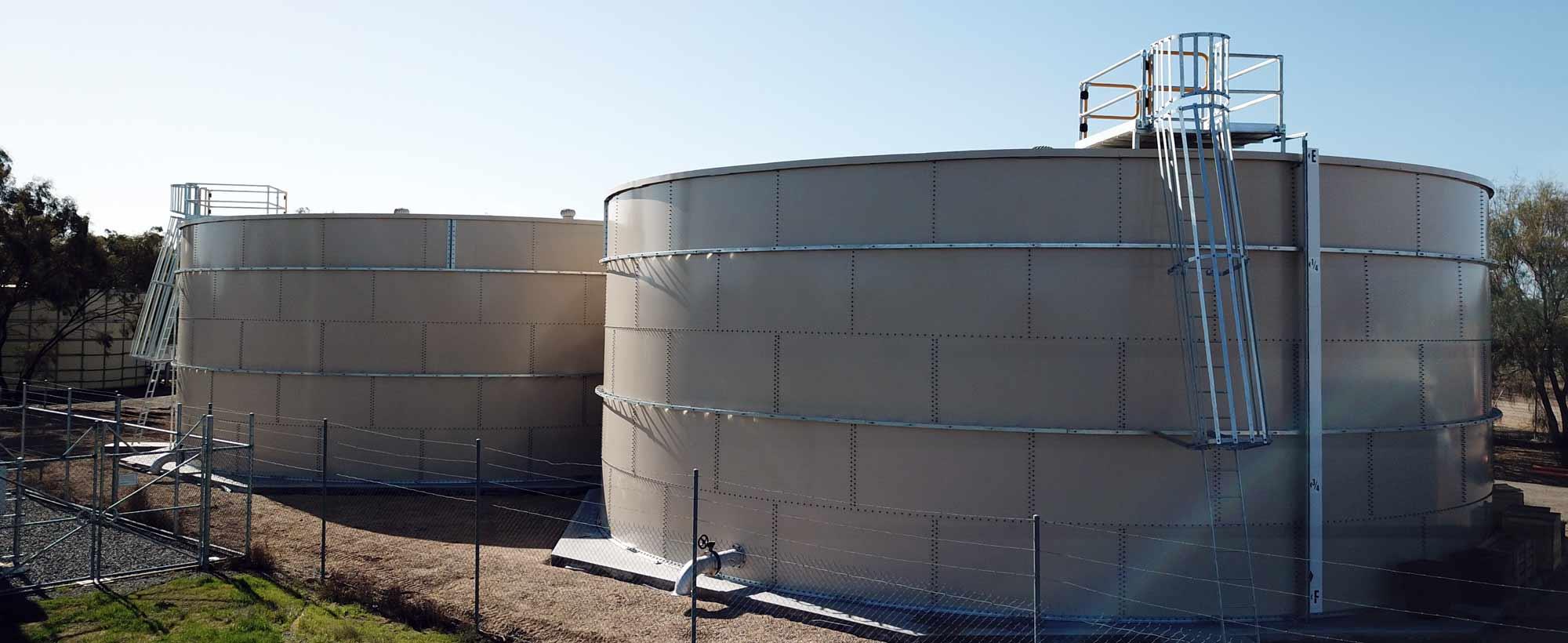 Hopetoun water treatment plant