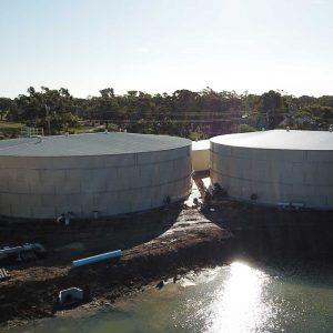 Warracknabeal Water Tanks